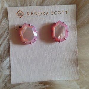 Kendra Scott Morgan Lilac Stud Earrings